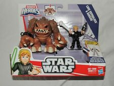New Star Wars Playskool Galactic Heroes Luke Skywalker & Rancor Return of Jedi