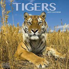 Tigers Calendar 2022 Wildlife Big Cat Wall 15% OFF MULTI ORDERS!