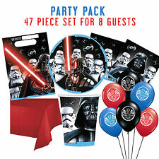 Party Supplies Boys Birthday Star Wars Classic Party Pk 8 Guests 47 Pieces