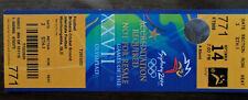 TICKET DE MATCH FOOTBALL J.O. SYDNEY 2000 -- BRESIL - SLOVAQUIE RARE