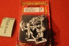 Games Workshop Daemonettes de Slaanesh comando demonio Figura De Metal Nuevo Estándar