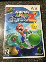 Super Mario Galaxy 2 (Nintendo Wii, 2010) Clean & Tested Working - Free Ship