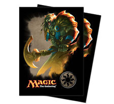 80ct Ajani Light Symbol-Art Deck Protector Card Sleeves MTG Ultra Pro 66 x 91mm