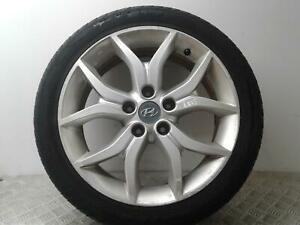 """2001-2009 HYUNDAI COUPE 17"""" ALLOY WHEEL AND TYRE 215/45/17 6MM OF TREAD"""