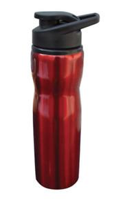 Sports Bottle Tumbler Cup Mug Stainless Steel Water Drinks  Flip Open Lid 25oz