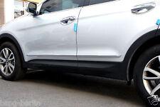 Accesorio para Hyundai Santa Fe 2012-2017 Cromo Paneles de Puerta Molding