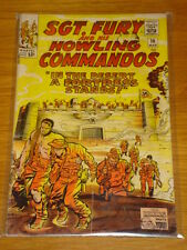 SGT FURY #16 MARVEL COMIC MARCH 1965 VG (4.0) *