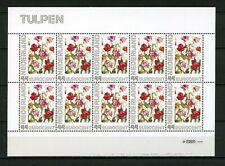 Nederland 2563c 2563-Ad-1 Bloemen Janneke Brinkman -tulp- vel