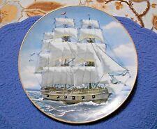 Rosenthal Danbury Mint Great American Sailing Ships Plate The Bon Homme Richard