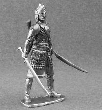 Metal Toy Soldiers Warrior Fantasy Figurine 1/24 scale 75mm miniature