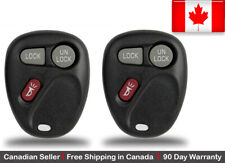 2x New Replacement Keyless Entry Remote Control Key Fob For Chevy Cadillac GMC