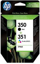 Genuine HP 350 Black 351 Colour Ink SD412EE  Photosmart C4205 C4270 C4272 C4280