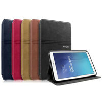 """Smart Leather Folio Cover For  Galaxy Tab E 8.0"""" SM-T377 / 9.6"""" SM-T560 Tablet"""