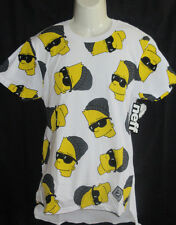 MENS NEFF THE SIMPSONS BART SIMPSON DROP TAIL TEE T-SHIRT SIZE L