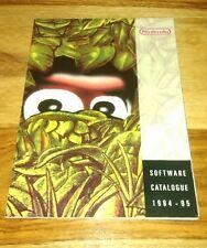 nintendo software catalogue 1994 - 95 snes game boy games original