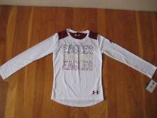 NEW Under Armour Boston College T SHIRT boys girls kid youth BC Eagles hockey 6