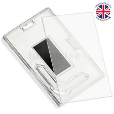 More details for x-large premium quality clear acrylic blank fridge magnets 90mm x 60mm | photo