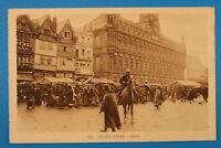 Nord 59 AK CPA Valenciennes 1914-18 Markt Marche Deutsche Soldaten Maisons 1.WK