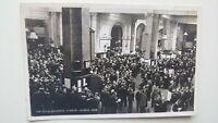Stock Exchange, London, General View Real Photo Postcard