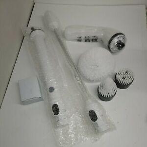 Genuine HSTV TURBO SCRUB DELUXE CORDLESS HAND HELD POWER SCRUBBER New And Unused