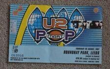U2 Popmart ticket Leeds 1997