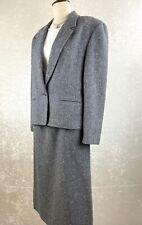 Pendleton Woolen Mills Suit Vtg Blazer Skirt Suit Pure Virgin Wool Size 16W