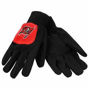 Tampa Bay Buccaneers Color Block Utility Work Gloves