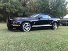2009 Ford Mustang SHELBY GT500 2009 Ford Mustang Convertible Black RWD Manual SHELBY GT500