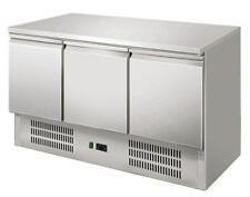 Tavolo refrigerato frigorifero saladette 3 Porte Banco frigo Inox  903 SS TOP