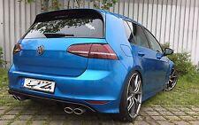 Golf 7 VII & GTI GTD Sportauspuff Auspuff Endschalldämpfer R R-Line VW Duplex