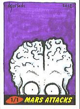 Mars Attacks Heritage Sketch Card: Bruce Gerlach