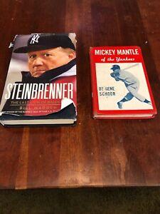 Mickey Mantle Of The Yankees By Gene Schoor 1958 Steinbrenner Bill Madden Books