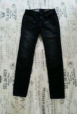 NWT CONVERSE COPLEY ROCKER SKINNY Stretch Jeans 03190C Size 24 x 30 Black $98!