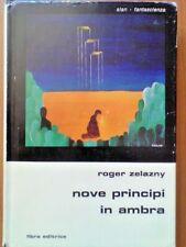Roger Zelazny - Nove Principi in ambra - Libra Editrice - Slan Fantascienza 1978