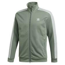 Adidas Original HERREN Beckenbauer Jacke Grün Retro Vintage Neu BNWT Trefoil