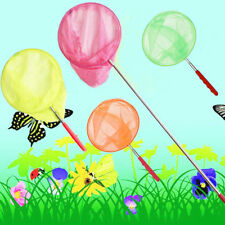 Jumbo Kids Butterfly Fishing Net Childrens Insect Catch Mesh Fish Extendable Sea