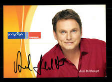 Axel Bulthaupt Autogrammkarte Original Signiert # BC 90980