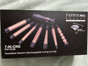 PARWIN BEAUTY Curling Wand 7 in 1 Curling Iron Set (7 Sizes - Professional)