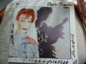 DAVID BOWIE - SCARY MONSTERS - LP - sehr guter Zustand!
