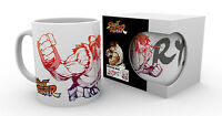 Street Fighter Tasse Ryu - Retro Gaming Kaffeetasse Kaffeebecher - 320 ml NEU