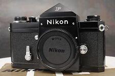 :EXC+ Nikon F Eye Level Prism 35mm Film SLR Black Camera Body LOW SERIAL 647xxxx