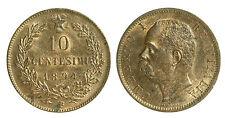 pci0237) Regno Umberto I  cent 10  1894 BI