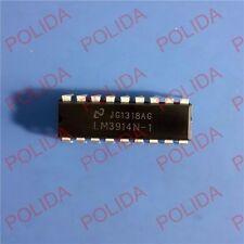 10PCS LED Display Driver IC NSC DIP-18 LM3914N-1 LM3914N-1/NOPB