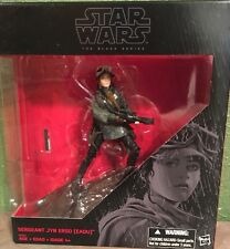 STAR WARS THE BLACK SERIES SERGEANT JYN ERSO (EADU) Action Figure New
