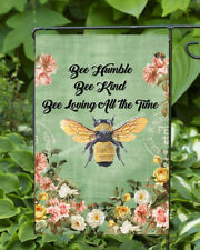 Bee Humble   Dbl Sided Soft Flag     **GARDEN SIZE**   FG1028