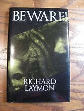 Richard Laymon - Beware -London: Kinnell: 1st British HC Edition - 1992