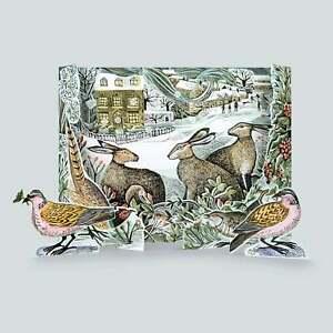 Art Angels Angela Harding We Three Hares Advent Calendar