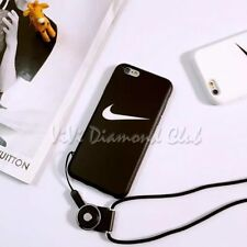Fashion Nike Sport Print Strap TPU Case Cover For Apple iPhone X 5 6 6s 7 8 Plus