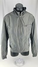 Milestone Coat Jacket Men's 52 / L Gray Grey Metallic Sportswear Moses Germany