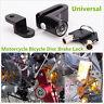 Universal Motorcycle Bicycle Black Anti-theft Wheel Disc Brake Lock With 2 Keys